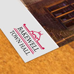 website and print design, web, print, bakewell town hall