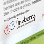 website and print design, web, print, finnberry, nordic, superberry, finland, finnish