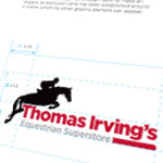 website and print design, web, print, thomas irving, equestrian superstore, horse