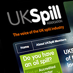 website and print design, web, print, uk, uk spill, oil spill, clean up