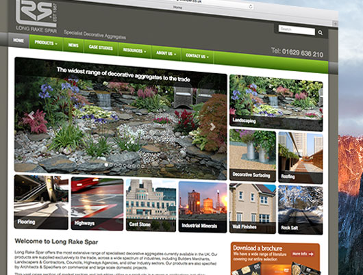 long rake spar efficient website navigation design