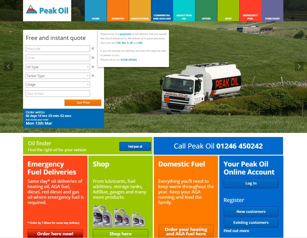 screenshot of peak oil website, web, website, peak oil