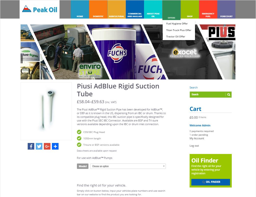 efficient website navigation design, web, website, peak oil