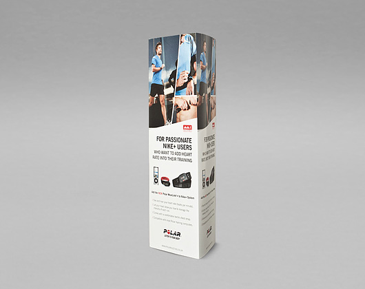 pos, polar, pop up display, print design, graphic design, derbyshire, sheffield, chesterfield, manchester, derby